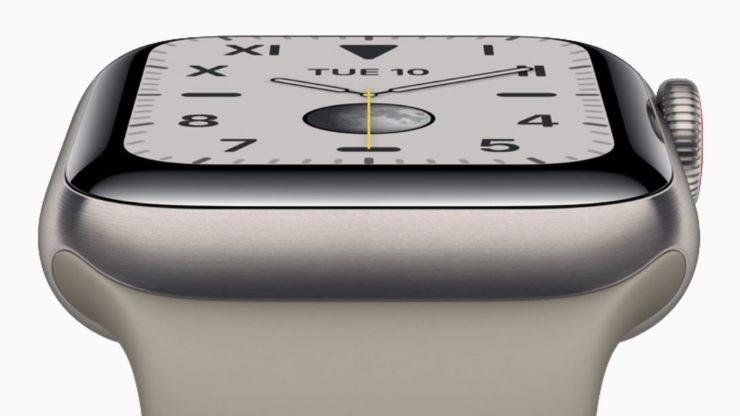Apple Watch Series 5 티타늄