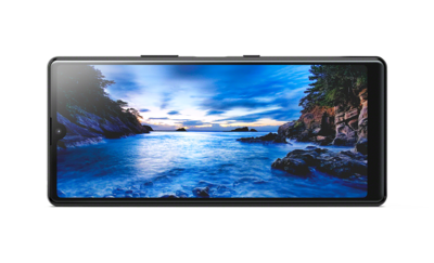 """21:9 Wide 6.2"""" display with cinematic aspect ratio"""